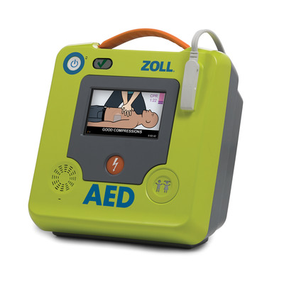 ZOLL AED 3 Defibrillator, Halbautomat | © ZOLL, 2019