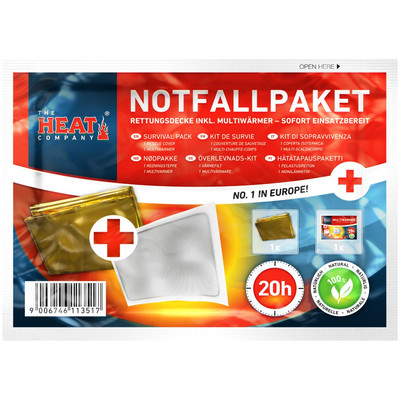 Notfallpaket Wärmepads | © The Heat Company, 2019